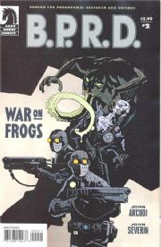 B.P.R.D. War On Frogs #2 (2008) Mike Mignola Dark Horse comic book